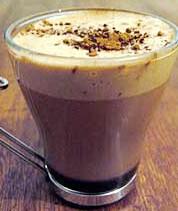 Receita de Bebida Quente de Chocolate  com Café
