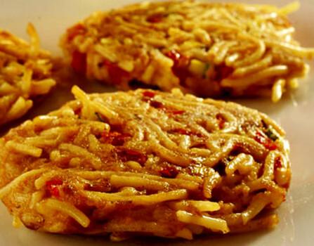 Receita de Esparguete enformado com atum