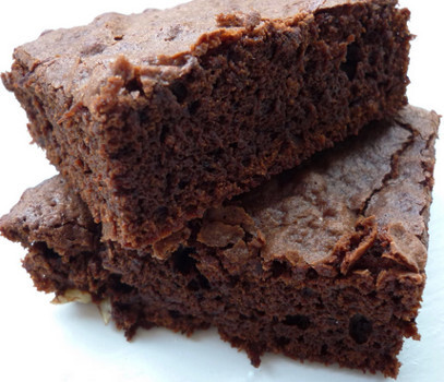 Receita de Quadrados de Chocolate