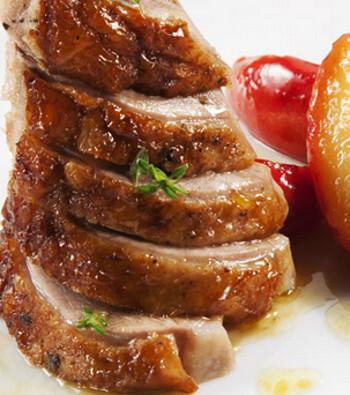 peru recheado com pato recheado com frango