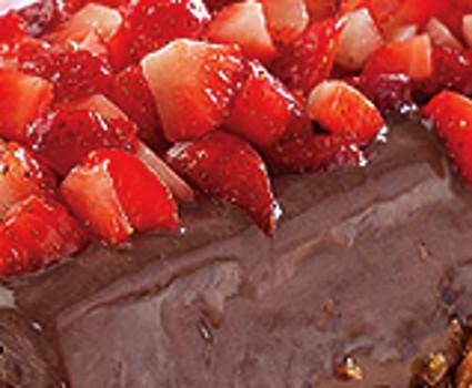 Delicia de Chocolate e Frutas