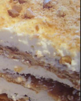 torta doce de pão velho