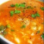 Sopa de Peixe com Delicias do Mar