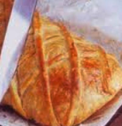 Lombo de Porco Recheado coberto com Massa Folhada