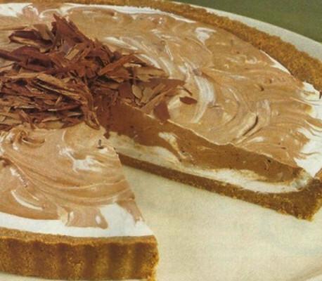 Tarte Gelada com Chocolate