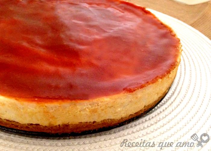 Cheesecake com ricota (cobertura de goiabada)