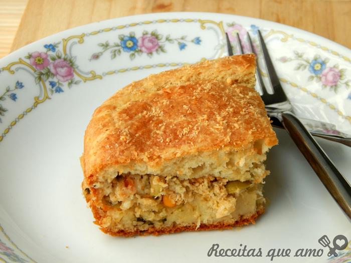 Torta de frango – Receita de massa para torta