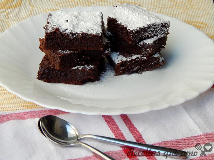 Receita de brownie básico