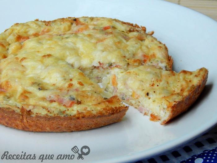 Omelete de forno prático