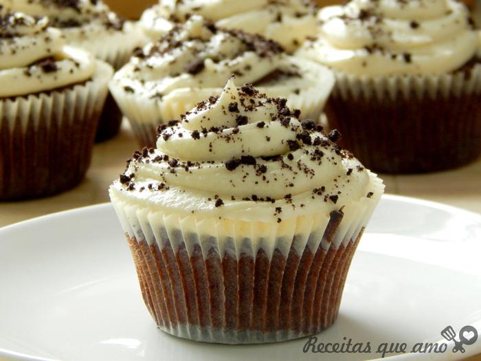 Cupcake de Óreo ou Negresco