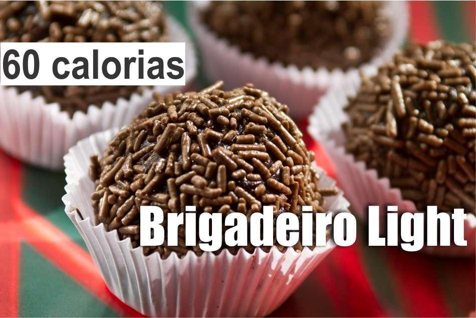 Brigadeiro Light com 60 calorias