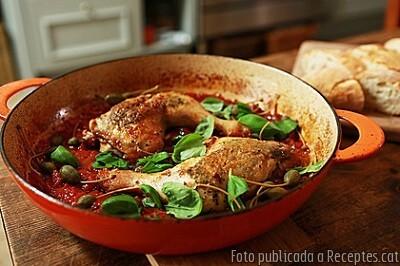Cuixes de Pollastre a la Italiana