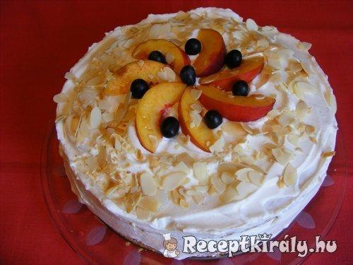 Vaníliakrémes torta