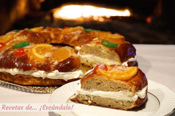 Cómo hacer Roscón de Reyes casero. Receta tradicional