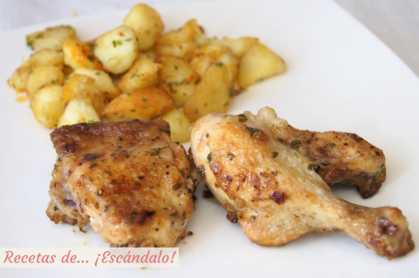 Pollo al ajillo. Cómo hacer la receta tradicional