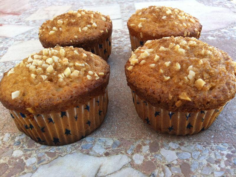 Muffins de calabaza y canela