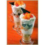 Frutillas con crema irina