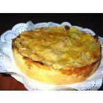 kuchen de manzana casero fácil