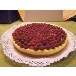 Kuchen de frambuesas (fácil)