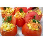 Tomates rellenos para vegetarianos