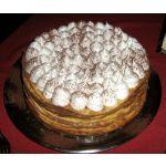 Torta de dulce de leche y merengue