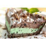 Torta de menta y chocolate