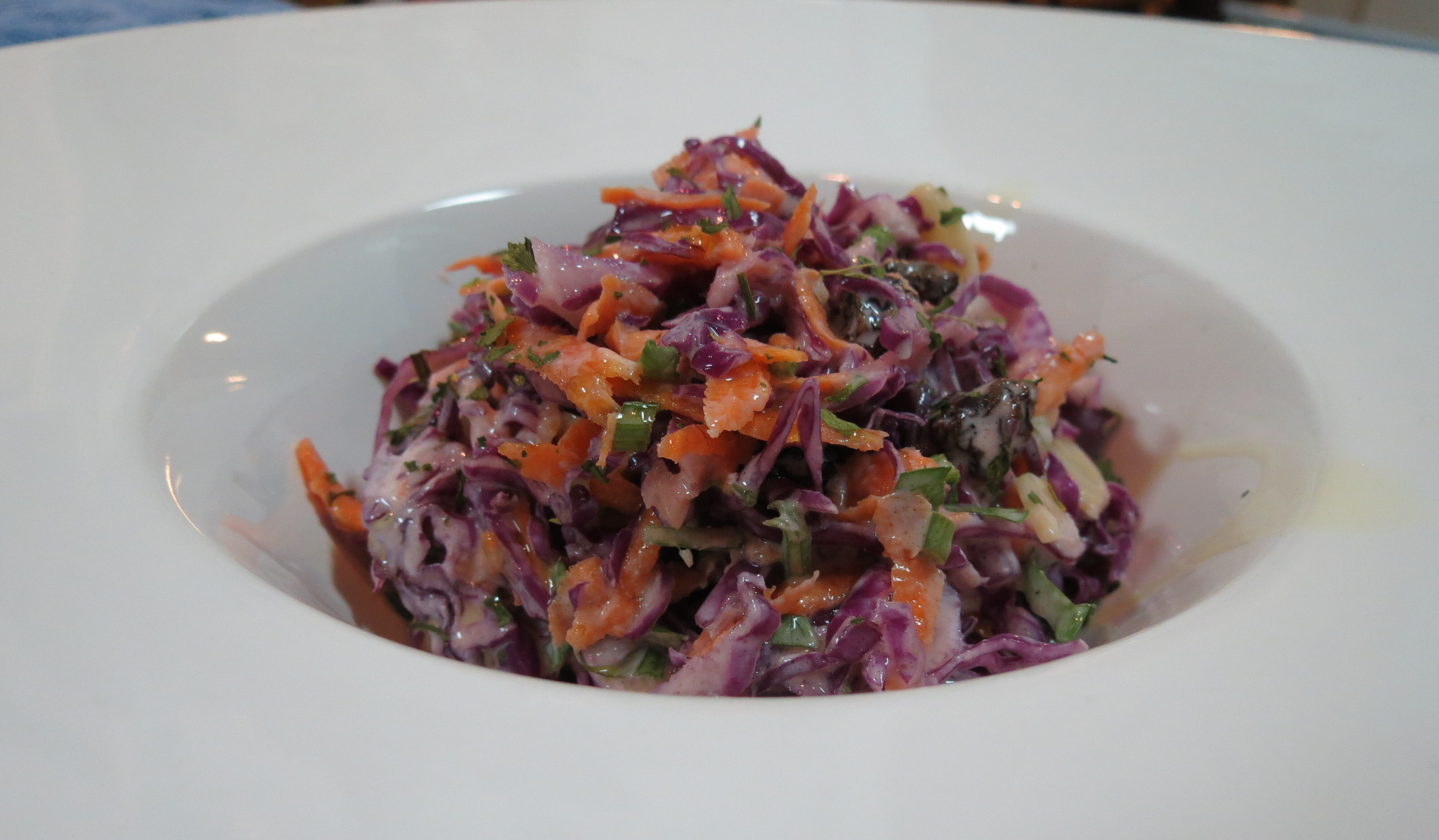 Salada de Repolho Estilo Coleslaw