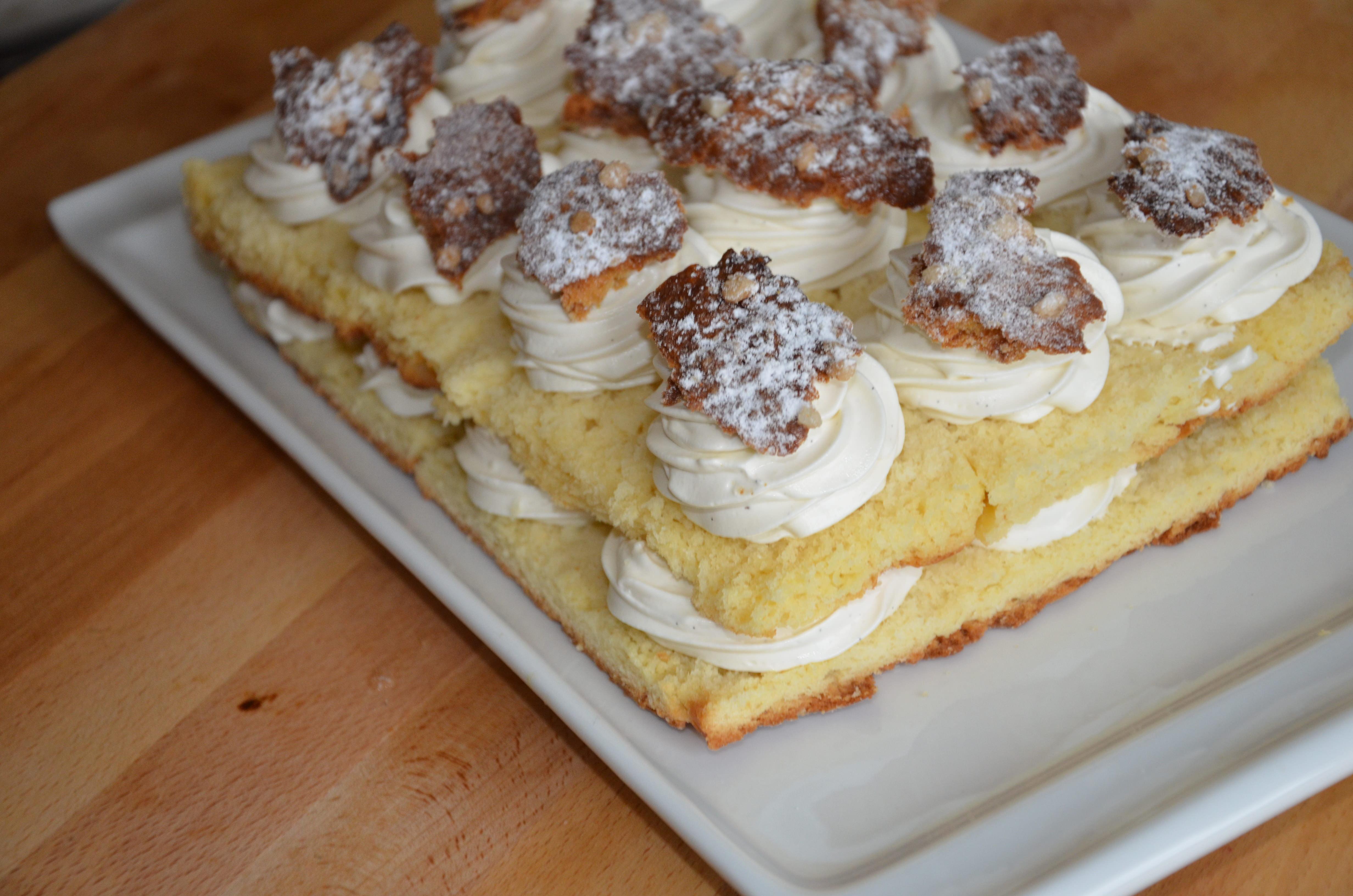 La tarte tropézienne revisitée de Cyril Lignac