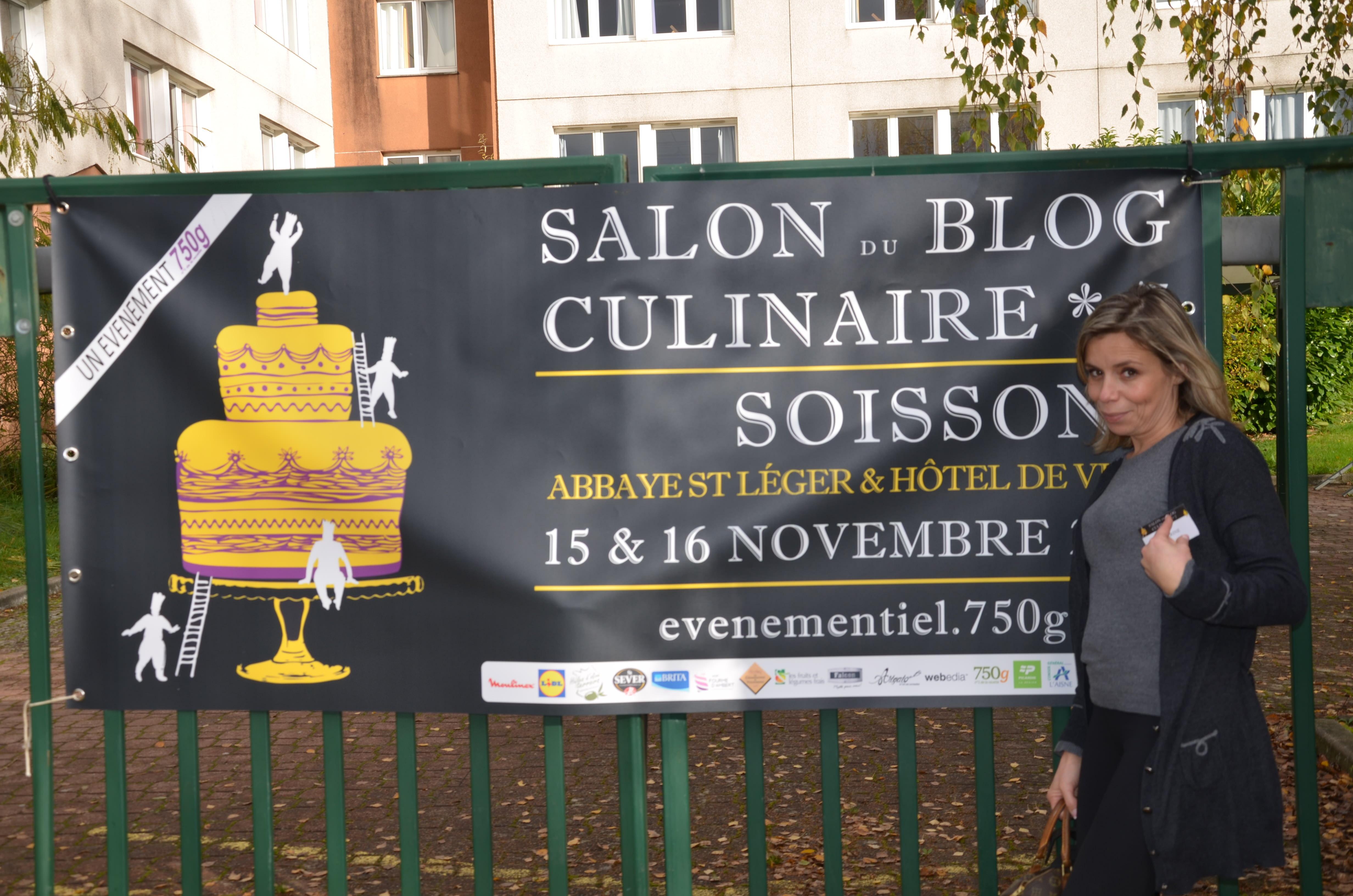 Le 7èmé salon du blog culinaire Soissons 2014: J'y étais