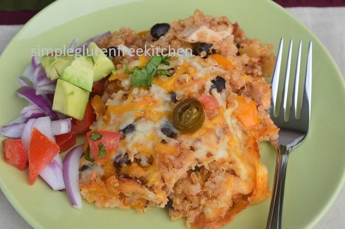 Chicken & Quinoa Casserole