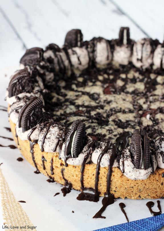 Oreo cake με γλάσο σοκολάτας