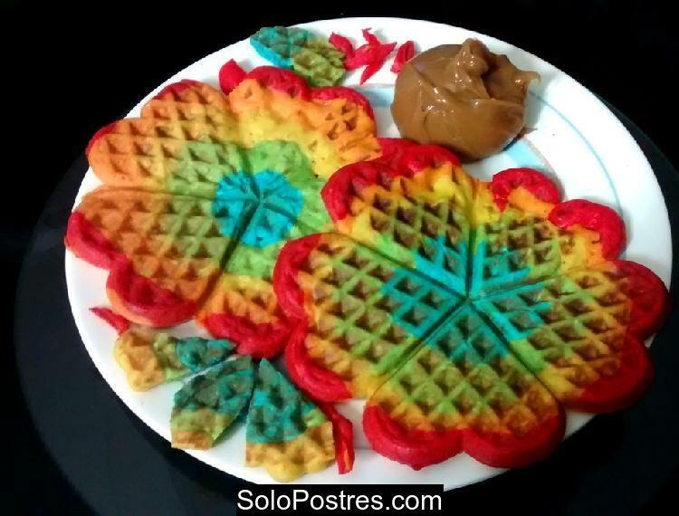Waffles Arcoiris