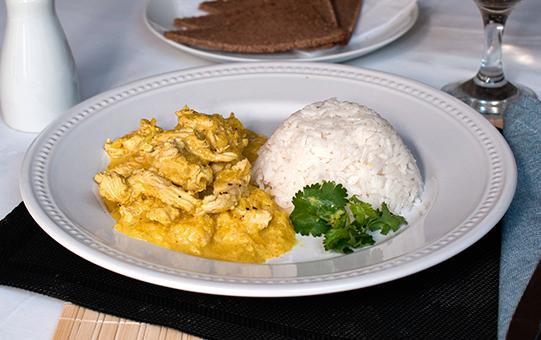Pavo al Curry