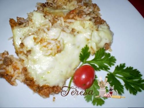 Arroz Fake Parmegiana- panela eletrica de arroz