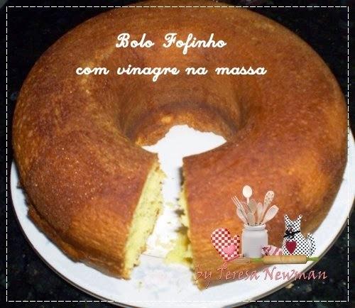 Receita de bolo Super fofo com Vinagre na massa. Santo vinagre, útil do bolo a limpeza