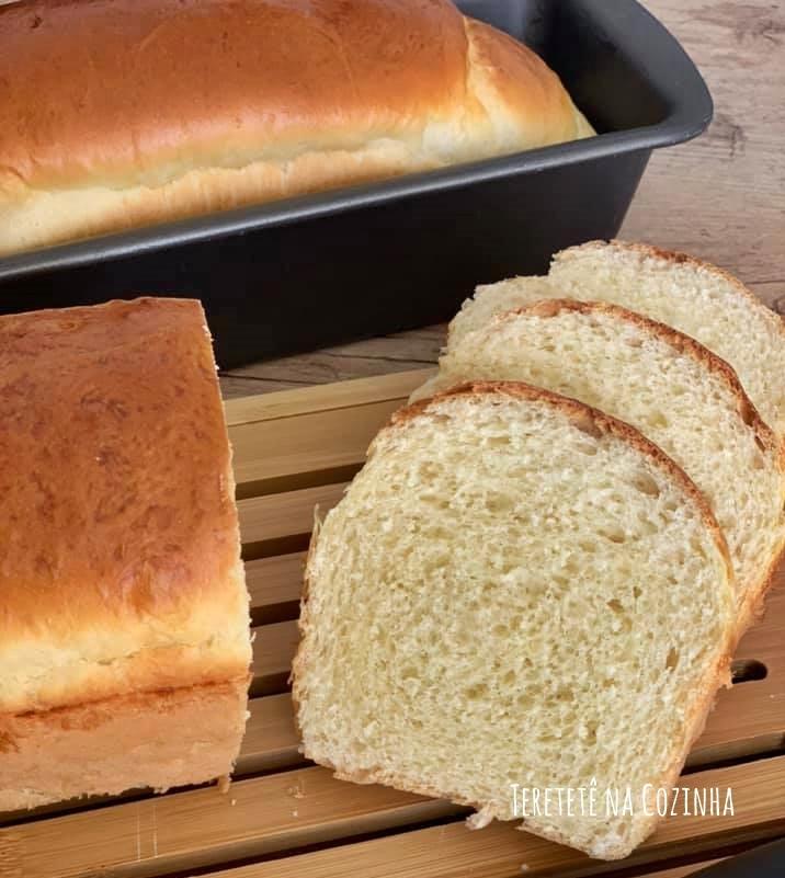 Receita de Pão Fofinho de Manteiga