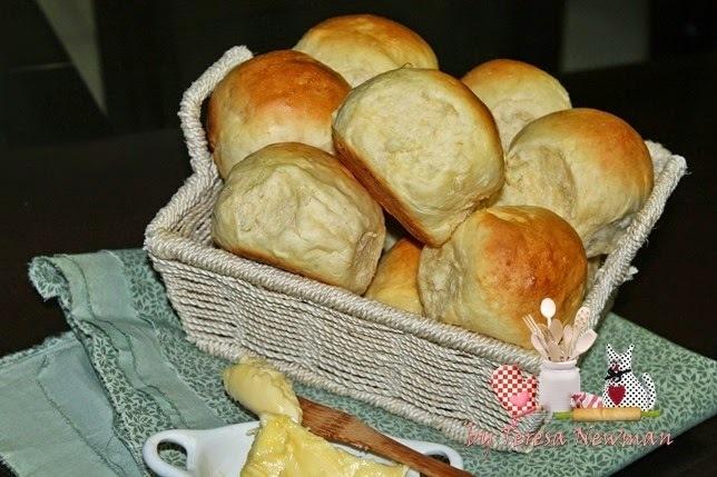 Pão Fofinho–Tipo pão de couvert