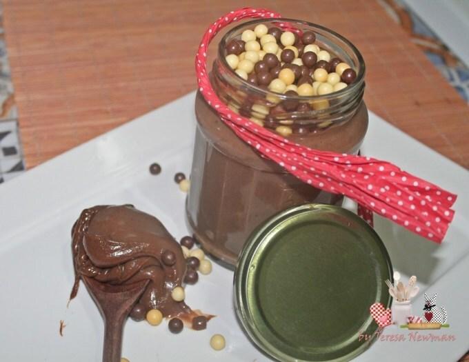 Brigadeiro de colher de Nutella