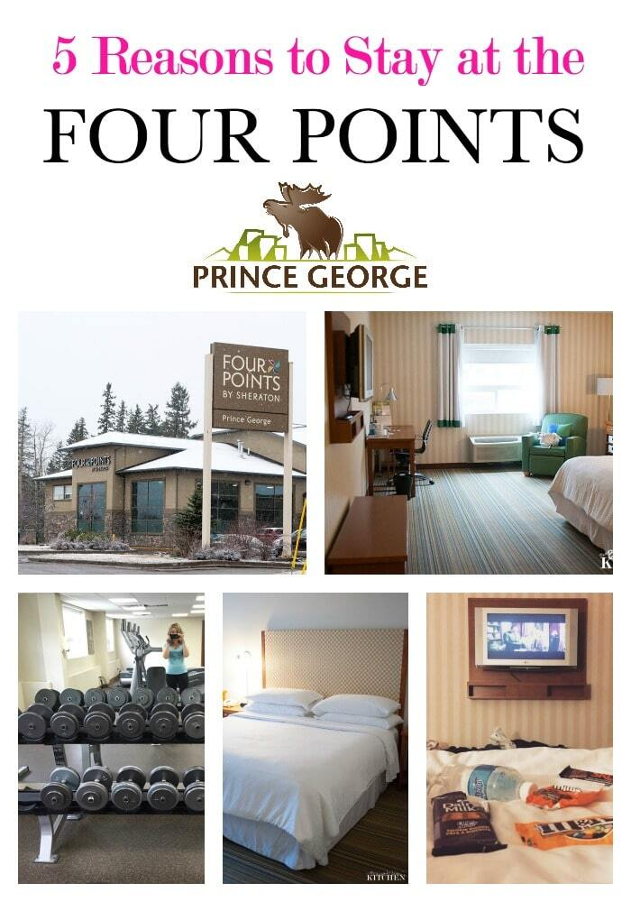 5 Reasons to Stay at the Four Points Prince George  #takeonPG