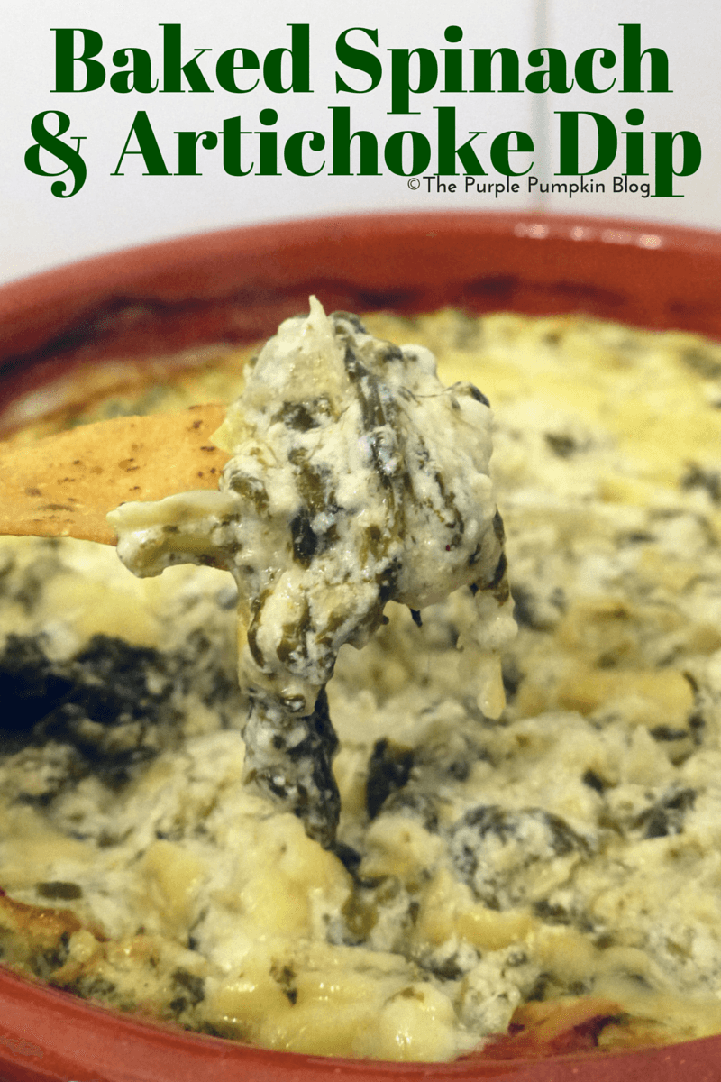 Baked Spinach & Artichoke Dip