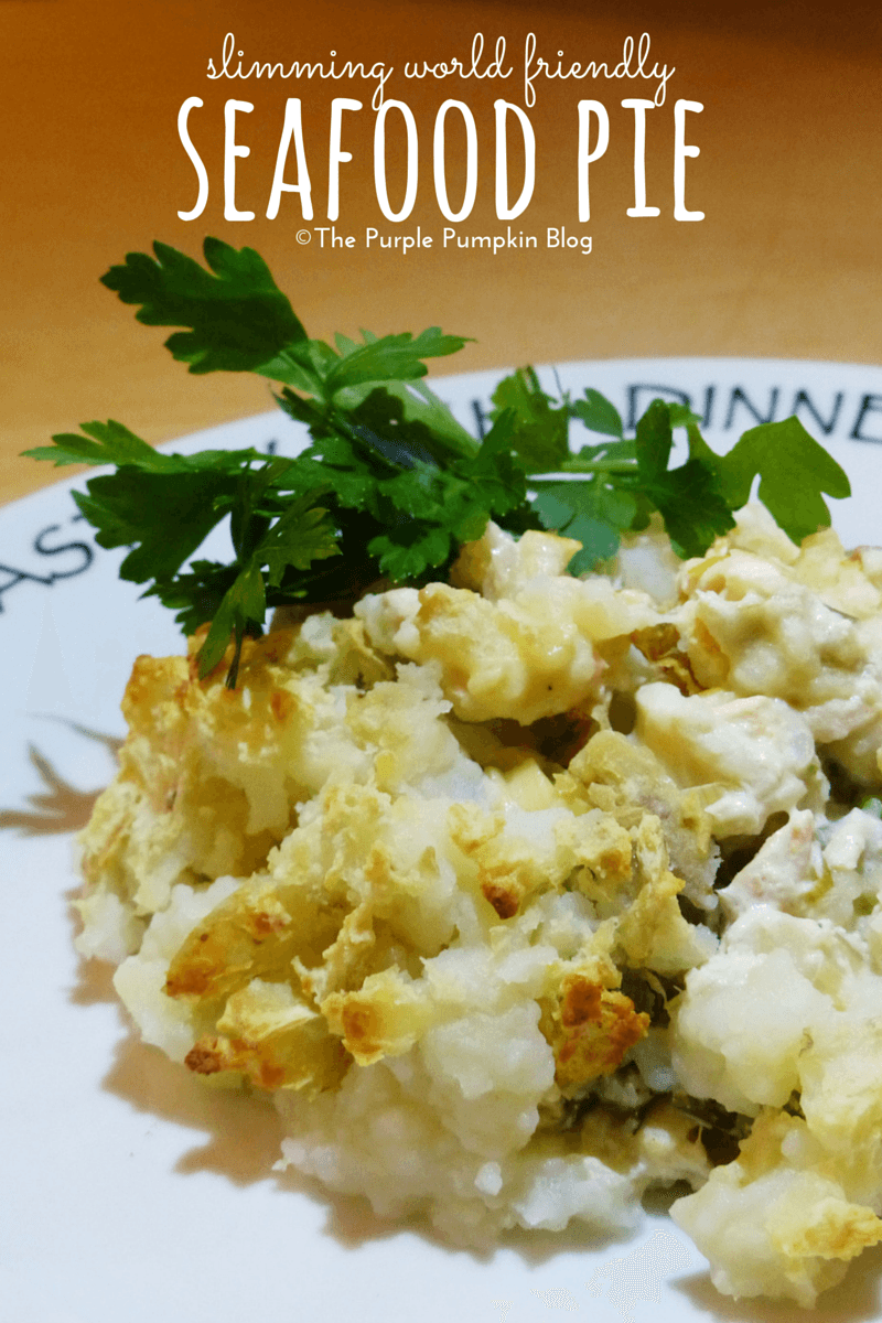 Slimming World Friendly Seafood Pie