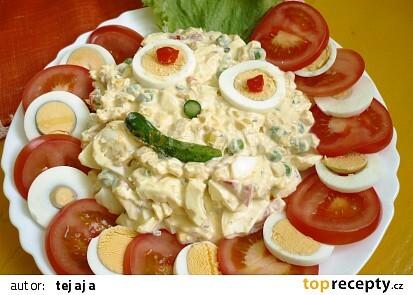 Vajíčkový salát Aladár