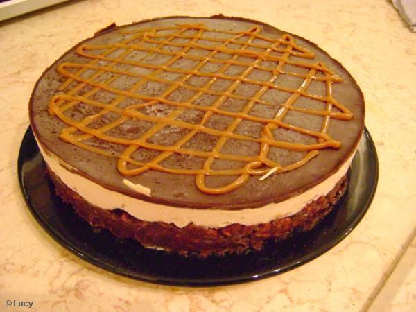 Torta de Chocolate Gelada