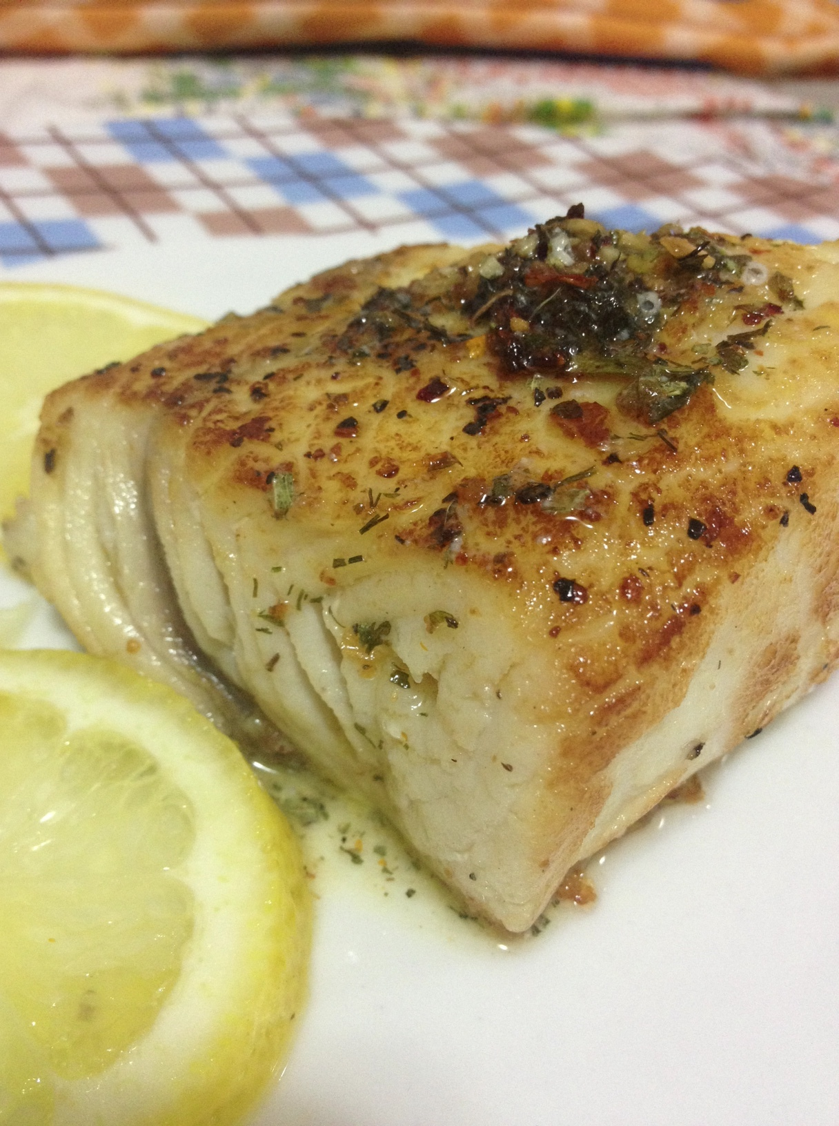 Bacalhau ao Chimichurri na Manteiga