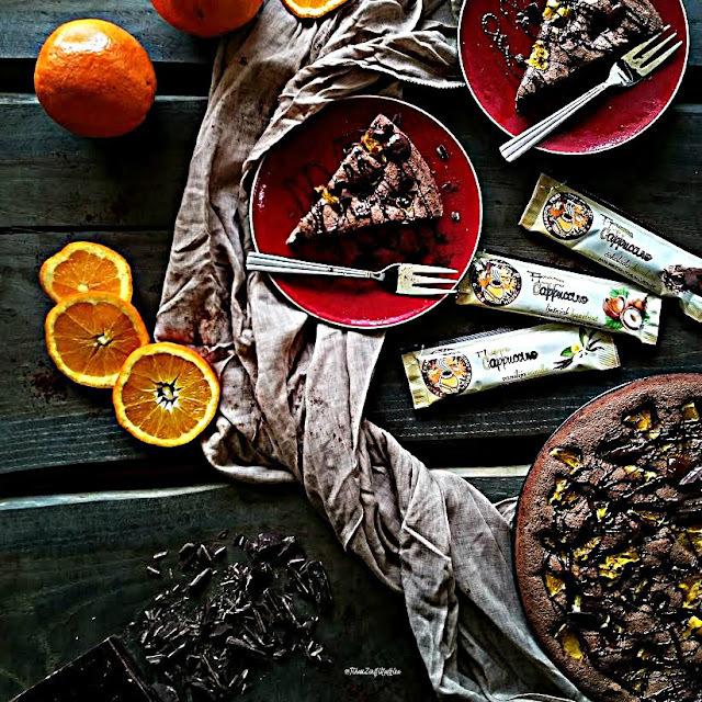 Čokotorta sa narančom i Jaffa Cappucino Frappeom od vanilije...