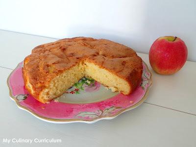 Gâteau moelleux aux pommes Pink Lady et à la bergamote (Pink Lady Apple Soft cake and bergamot)
