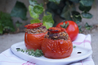 Tomates farcies à la viande