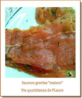 Saumon gravlax, facile et délicieux, maison