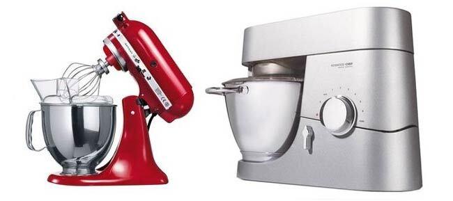 Robot pâtissier : Kenwood Chef Titanium ou Kitchenaid Artisan ? {comparatif}