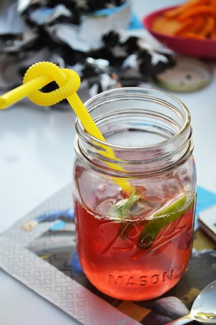 Cocktail Cranberry Punch (sans alcool)